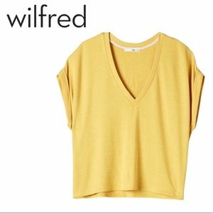 Wilfred Free | Yellow Broth Relaxed T-Shirt